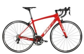 Carbon road bike (red) on rent