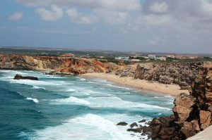 Beatiful beach in Sagres, Portugal