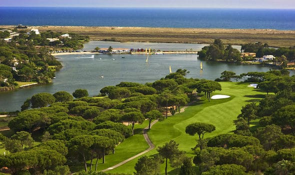 A beautiful landscape in Quinta do Lago