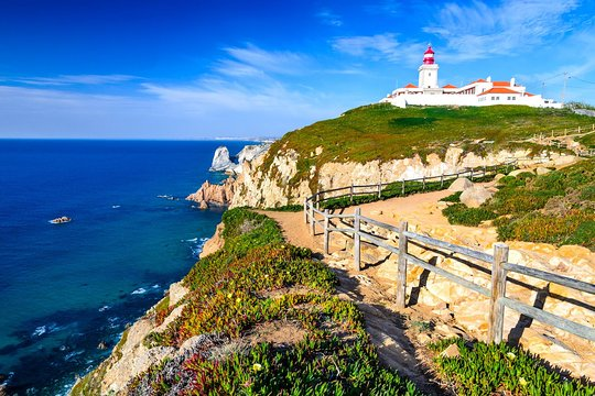 After renting a bike in Sintra you can ride to Cabo da Roca