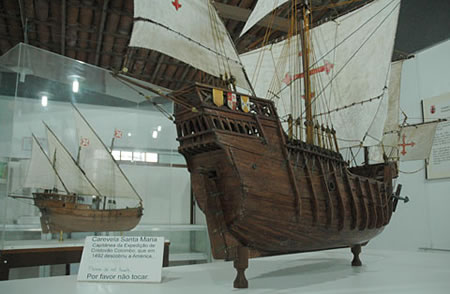 A collection in Museo Maritimo, Faro