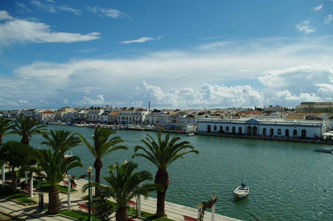 The view of Tavira