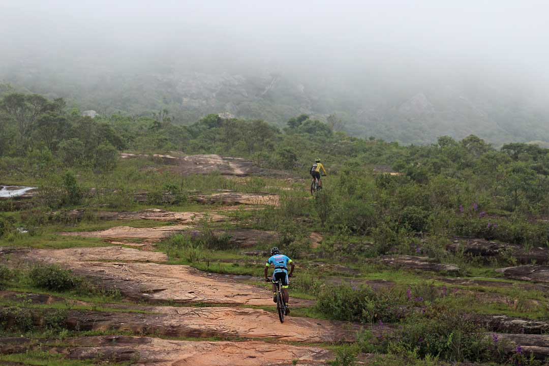 Two persons are enjoying cycling holiday as one of the top things to do in the Algarve