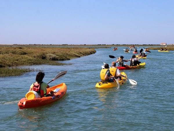 Kayak Tours in Tavira