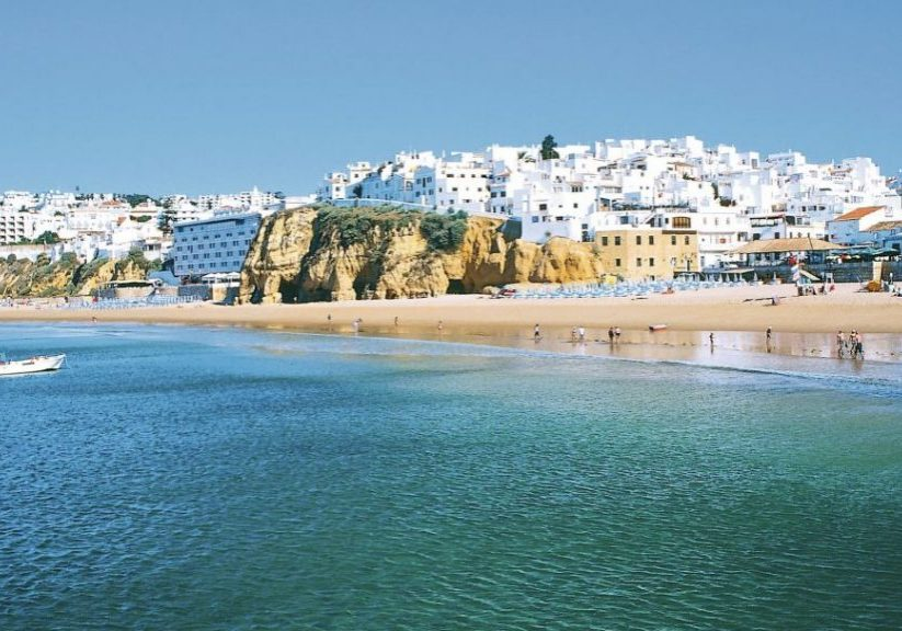 By renting a bike in Albufeira, you can visit beach and sightseeing beautiful cliffs and rocks