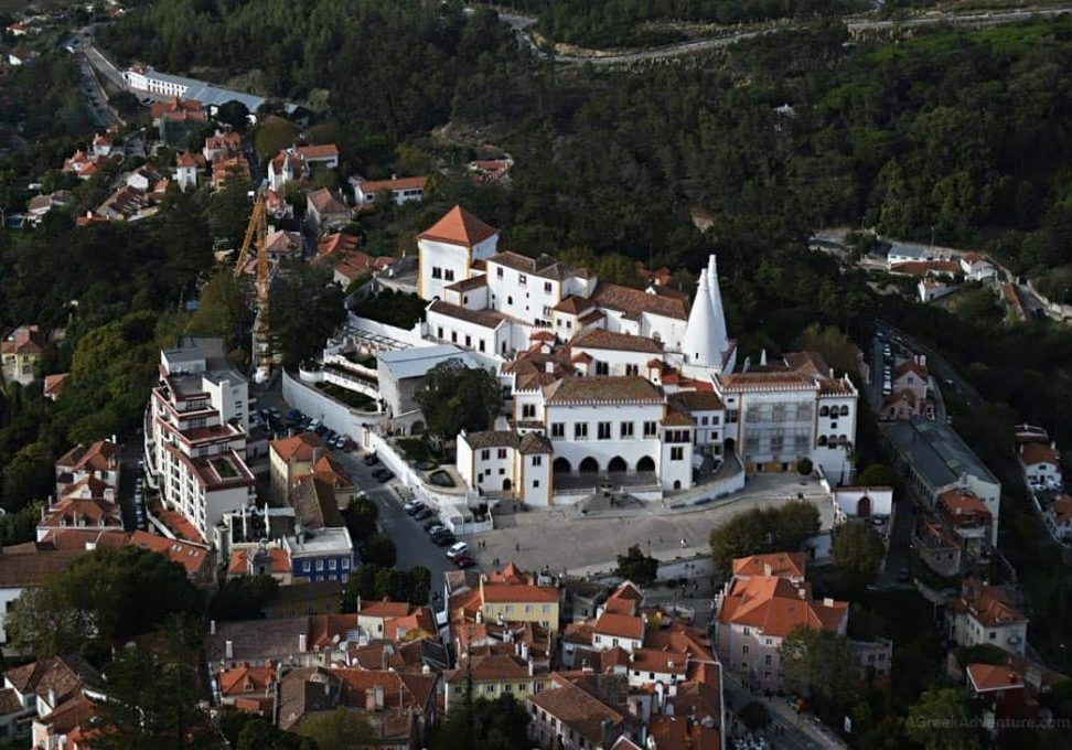 After renting a bike in Sintra, you can visit these amazing buildings and hills in Sintra